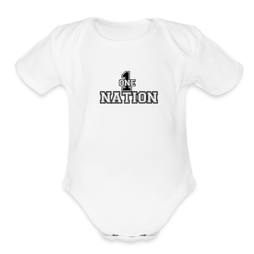 Number One Nation - Organic Short Sleeve Baby Bodysuit