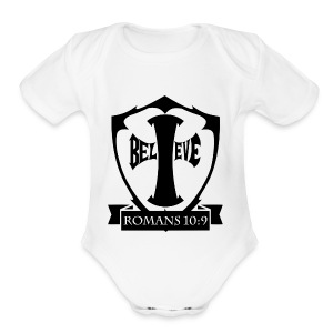 romans109-final - Short Sleeve Baby Bodysuit