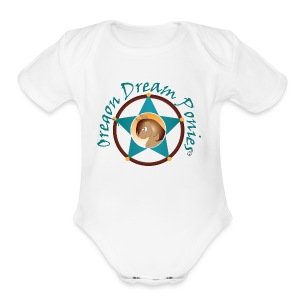Oregon Dream Ponies - Short Sleeve Baby Bodysuit