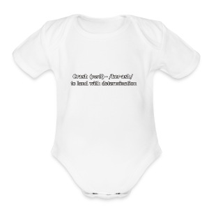 Crash - Short Sleeve Baby Bodysuit