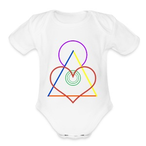 Angel - Short Sleeve Baby Bodysuit