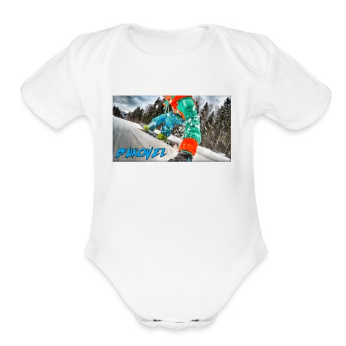 Bukovel Snowboarding - Organic Short Sleeve Baby Bodysuit