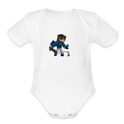 Nixo's Icon - Organic Short Sleeve Baby Bodysuit