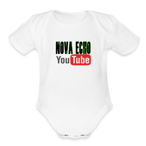 Nova Echo Merch - Organic Short Sleeve Baby Bodysuit