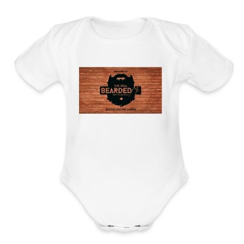 youtubebannerbeadedme - Organic Short Sleeve Baby Bodysuit