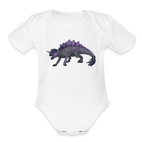 Megavore - Organic Short Sleeve Baby Bodysuit