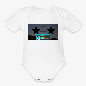 Rainbow six gamer 405 - Short Sleeve Baby Bodysuit