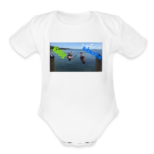 Najman bros - Organic Short Sleeve Baby Bodysuit
