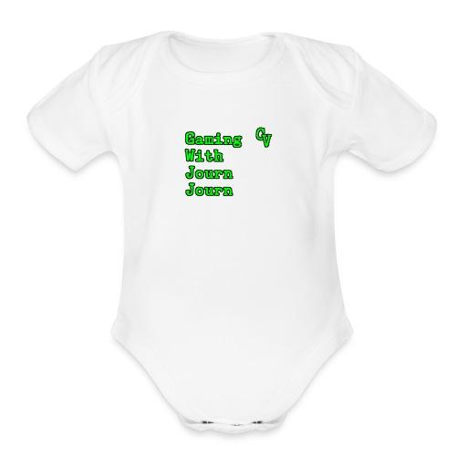 Cv - Organic Short Sleeve Baby Bodysuit