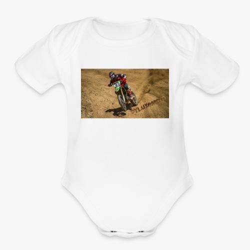 DyluxeMoto - Organic Short Sleeve Baby Bodysuit