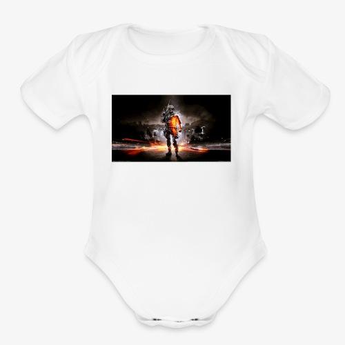 mpnationmerchandise - Organic Short Sleeve Baby Bodysuit