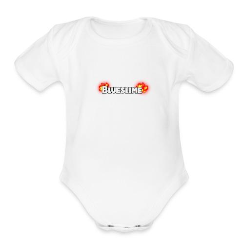 1505146785591 - Organic Short Sleeve Baby Bodysuit