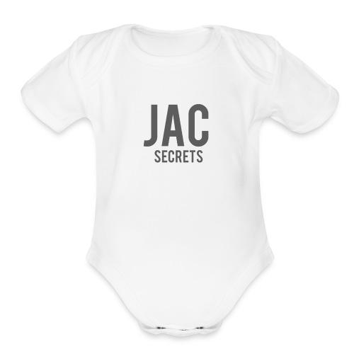 Jac Secret - Organic Short Sleeve Baby Bodysuit