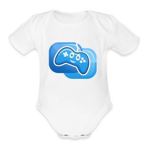 JP the Controller - Short Sleeve Baby Bodysuit