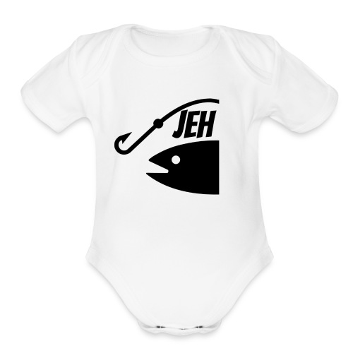 JEHFishing - Organic Short Sleeve Baby Bodysuit
