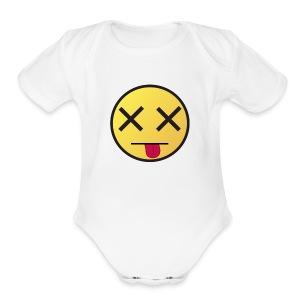 When I wake up - Short Sleeve Baby Bodysuit