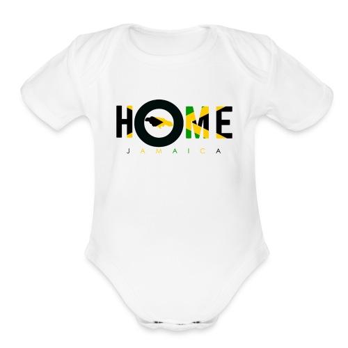 JAMAICA - Organic Short Sleeve Baby Bodysuit
