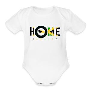 JAMAICA - Short Sleeve Baby Bodysuit