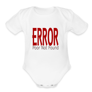 Oops There Is Something Missing! - Short Sleeve Baby Bodysuit