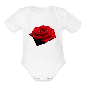 DeadRoses - Short Sleeve Baby Bodysuit