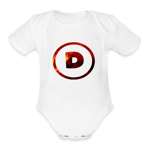 Dra9on Stuff #1 - Organic Short Sleeve Baby Bodysuit