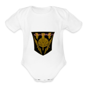 SENTINEL_STAND_READY - Short Sleeve Baby Bodysuit