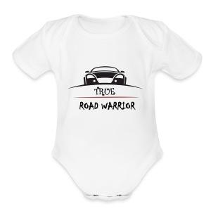 True Road Warrior - Short Sleeve Baby Bodysuit