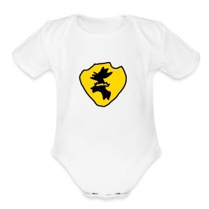 Sigil - Short Sleeve Baby Bodysuit