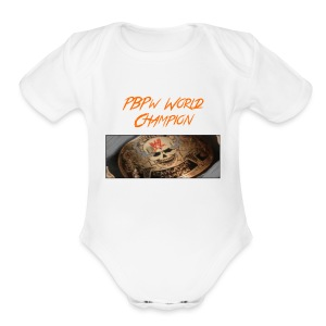PBPW_World_Champion - Short Sleeve Baby Bodysuit