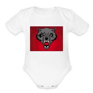 Wolf Pack - Short Sleeve Baby Bodysuit