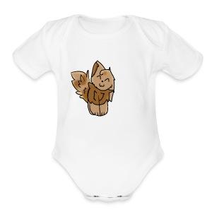 noth light fire... - Short Sleeve Baby Bodysuit