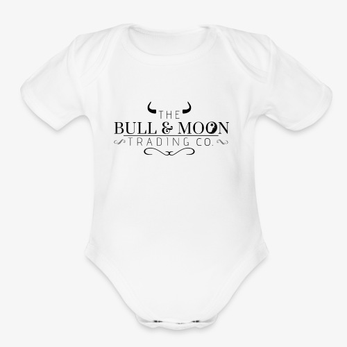 Bull & Moon Official T-Shirt - Organic Short Sleeve Baby Bodysuit