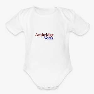 Ambridge Votes - Short Sleeve Baby Bodysuit