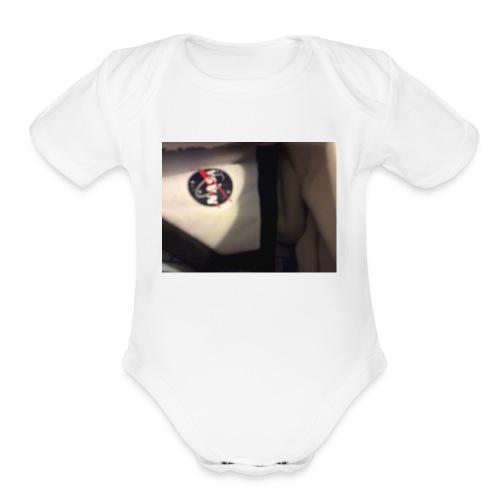 Spacesola - Organic Short Sleeve Baby Bodysuit