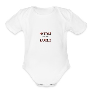 Luili - Short Sleeve Baby Bodysuit