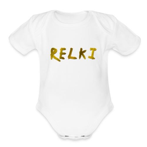 Relki - Organic Short Sleeve Baby Bodysuit