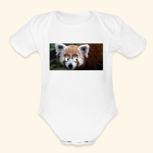 RedPanda - Organic Short Sleeve Baby Bodysuit