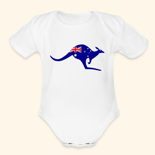 australia 1901457 960 720 - Organic Short Sleeve Baby Bodysuit