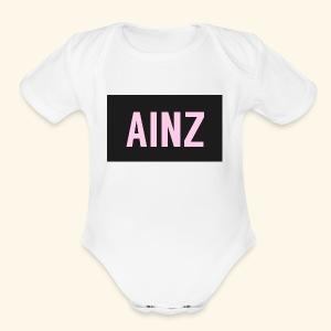 Ainz merch - Short Sleeve Baby Bodysuit