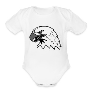 Eagle - Short Sleeve Baby Bodysuit