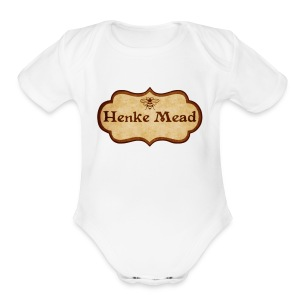 Henke Mead - Short Sleeve Baby Bodysuit