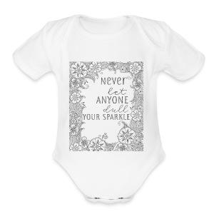 Sparkle - Short Sleeve Baby Bodysuit