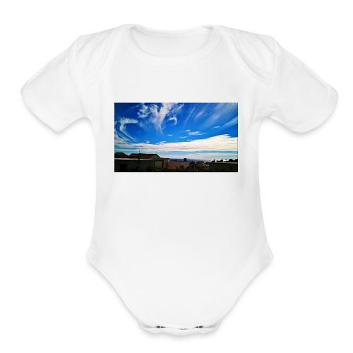 Autumn can be beautiful - Organic Short Sleeve Baby Bodysuit