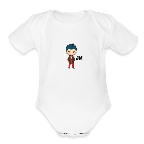 JM - Organic Short Sleeve Baby Bodysuit