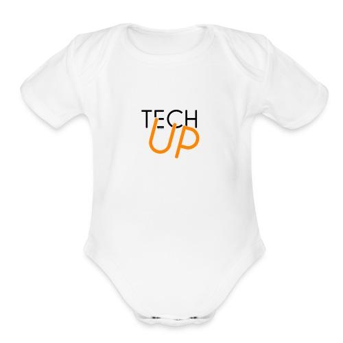 TechUp! - Organic Short Sleeve Baby Bodysuit