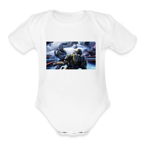 halo - Organic Short Sleeve Baby Bodysuit