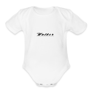 Walker - Short Sleeve Baby Bodysuit