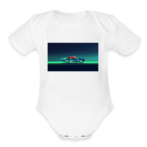 The Pro Gamer Alex - Organic Short Sleeve Baby Bodysuit