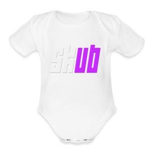 SKUB logo - Short Sleeve Baby Bodysuit