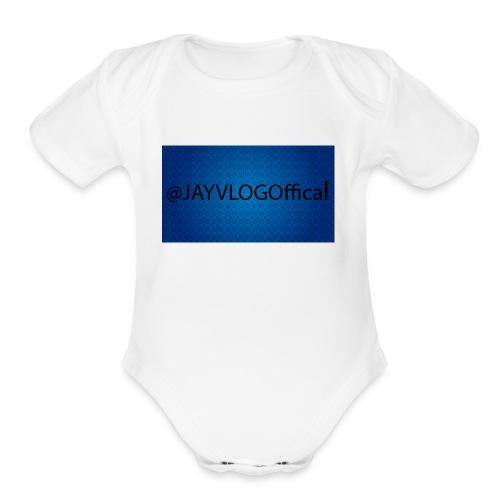 JAYVLOGOffical - Organic Short Sleeve Baby Bodysuit